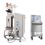 bioréacteur de laboratoire / pour la fermentation microbienne / à usage unique