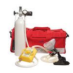 Système d'oxygénothérapie portable / avec bouteille d'oxygène / avec masque à oxygène MARS II GCE