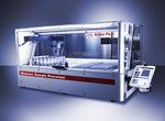 système de préparation d'échantillons de laboratoire / pour l'industrie pharmaceutique / automatisé / par pipettage