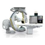 système de fluoroscopie / numérique / pour fluoroscopie cardiovasculaire / avec amplificateur de brillance fixé au sol