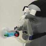 masque PPC / à oxygène / facial / à usage unique