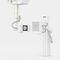 Système de radiographie / numérique / pour radiographie polyvalente / avec table mobile X-FRAME DRT SYSTEM ITALRAY