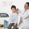 Testeur de réflexes / tympanomètre de dépistage / tympanomètre de diagnostic / audiométrie pédiatrique touchTymp MI 24 MAICO Diagnostic