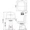 fauteuil d'examen ophtalmologique / électrique / à hauteur variable / 2 plans