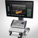 échographe sur plateforme, compact / pour échographie polyvalente / noir et blanc / doppler couleur