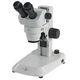 stéréomicroscope de laboratoire / optique / droit / à zoom