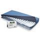 matelas pour lit médicalisé / à rotation latérale / à faible perte d'air / anti-escarres