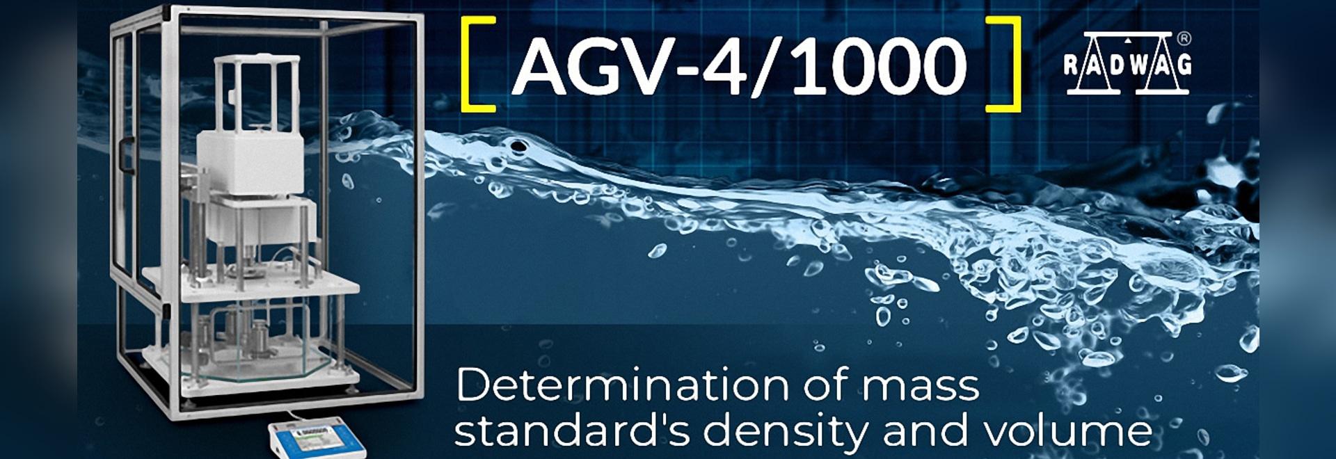 AGV-4/1000 Comparateur automatique