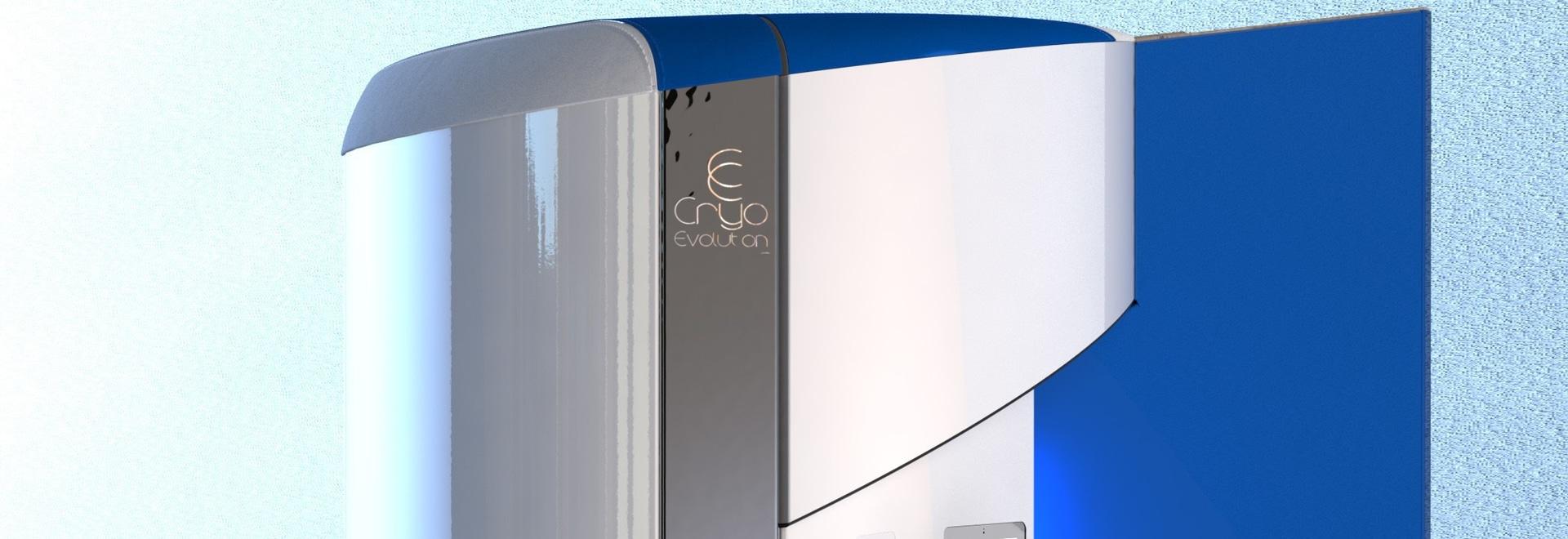 Cabine de cryothérapie - Jouvence bleue