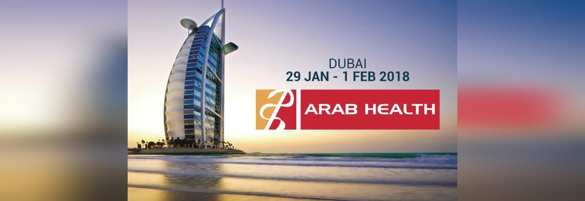 Echolight à la santé arabe 2018 à Dubaï.