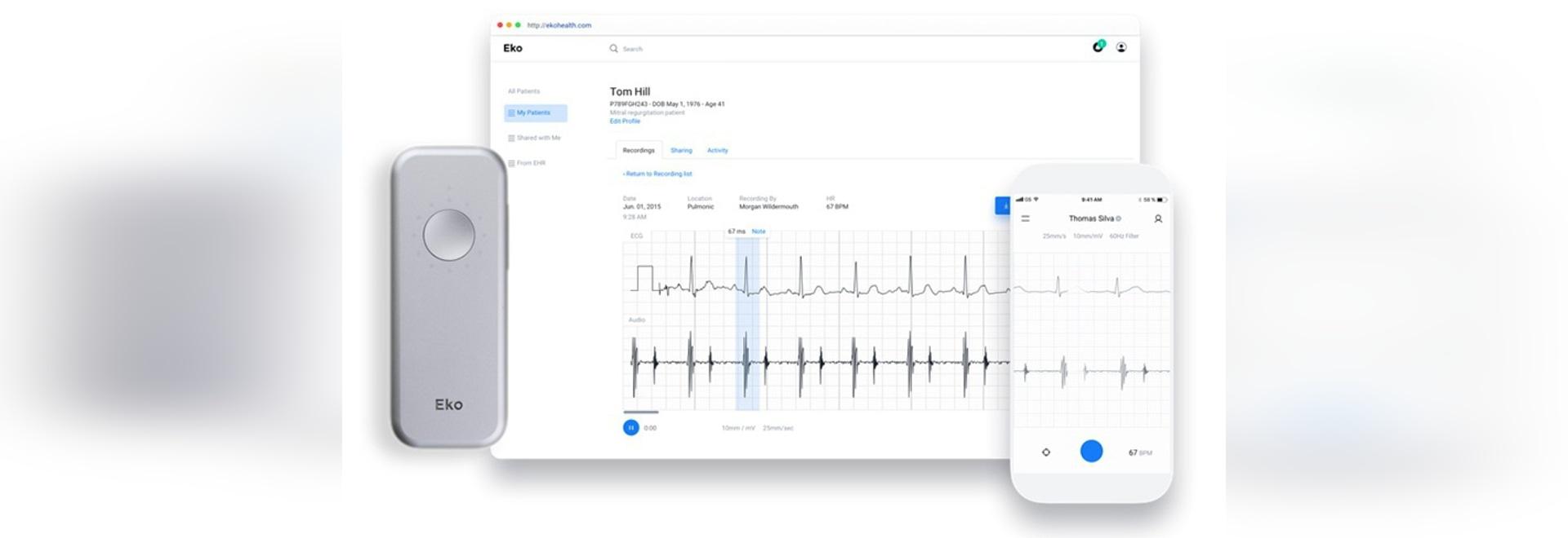 Eko et Mayo Clinic Working sur l'outil examinant cardiaque automatisé
