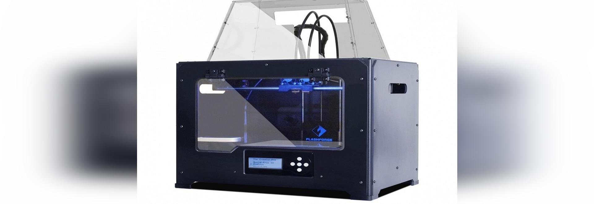 L'imprimante du créateur 3D de FlashForge (courtoisie de FlashForge