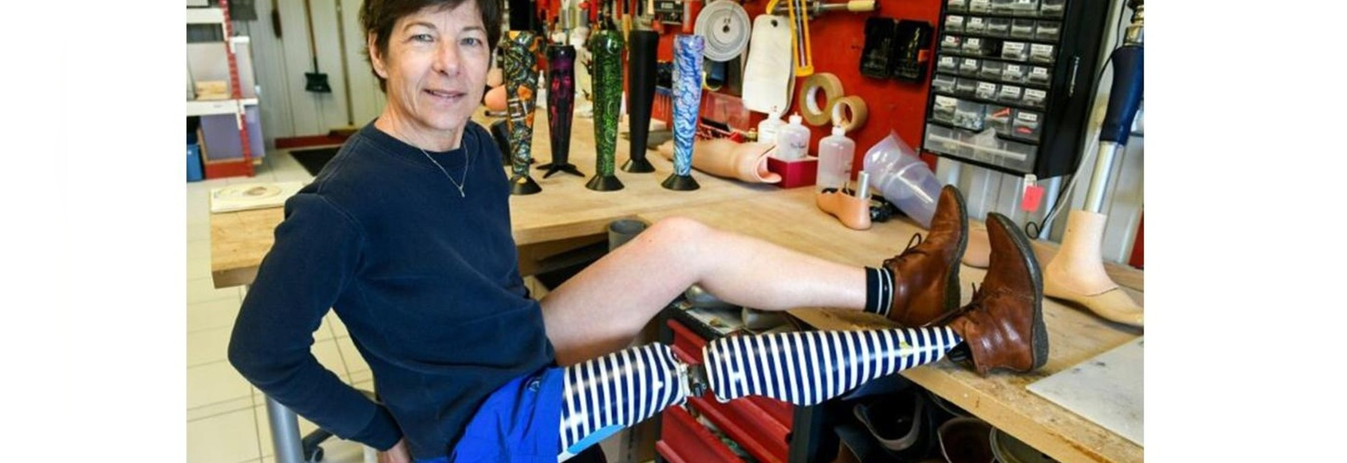 """Les prothèses """" laides """" bénéficient d'un traitement de design français"""