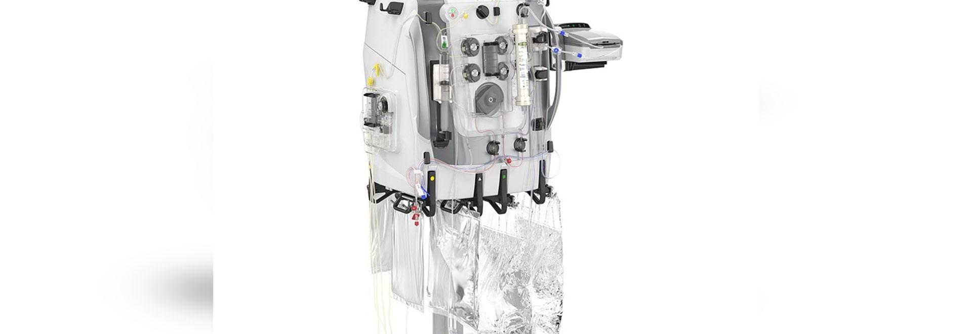 Remplacement rénal de PrixMax de Baxter et système de support d'organe dégagé en Europe