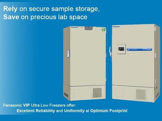 Comptez sur le stockage sûr d'échantillon, économies sur l'espace précieux de laboratoire
