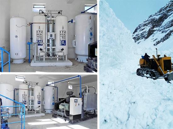 Les approvisionnements en oxygène dans les hôpitaux ou les cliniques situés dans des secteurs inaccessibles est un défi.