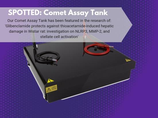 Réservoir d'analyse de comète repéré dans la recherche