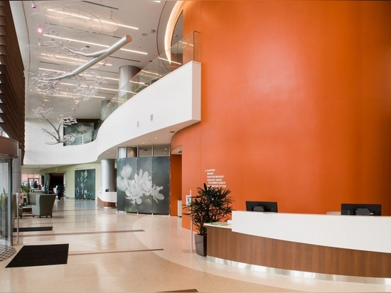 La tour d'ESPOIR au centre médical d'université de Jersey Shore reçoit la récompense 2018 de construction distinguée