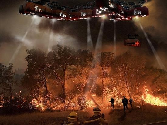 Sydney a basé le studio HDR développe un concept volant d'hôpital pour le secours en cas de catastrophe