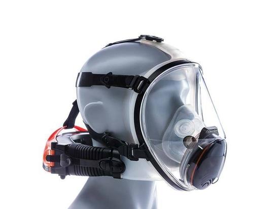 Le respirateur assure la protection de plein visage