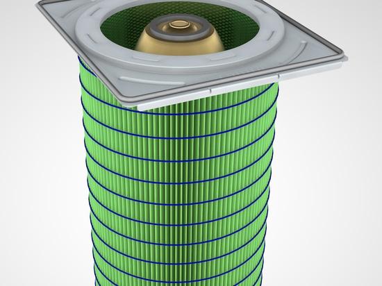 Cartouches filtrantes pour le dépoussiérage industriel à haute efficacité