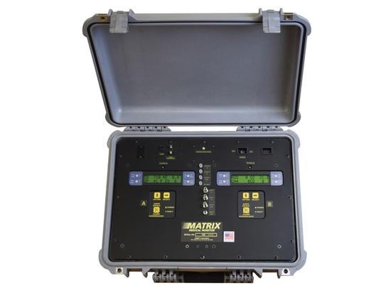 Le multicapteur analyse le gaz médical