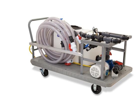 Le système de détartrage industriel protège l'équipement