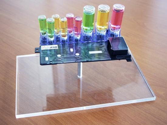 Cassette microfluidique (iMiLAB)