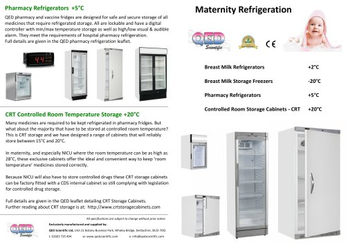 Maternity Refrigeration