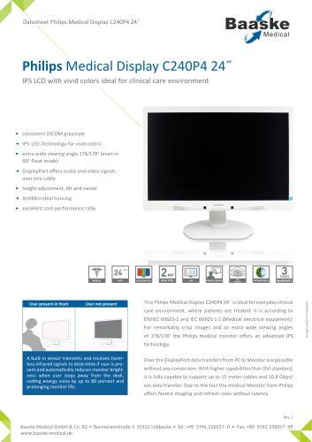Philips Medical Display C240P4 24''