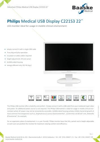 Philips Medical USB Display C221S3 22''