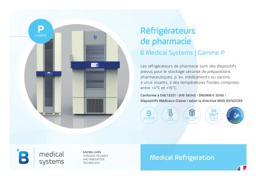 B Medical Systems | Gamme P 9