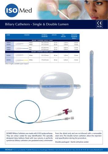 Biliary Catheters