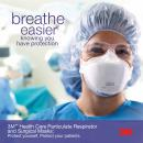 3M™ Breathe Easier Healthcare Disposable Respirator