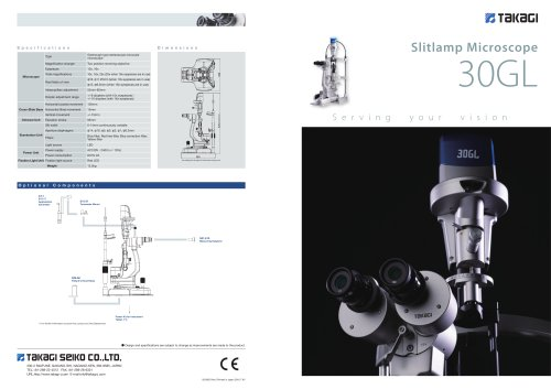 Slitlamp Microscope 30GL