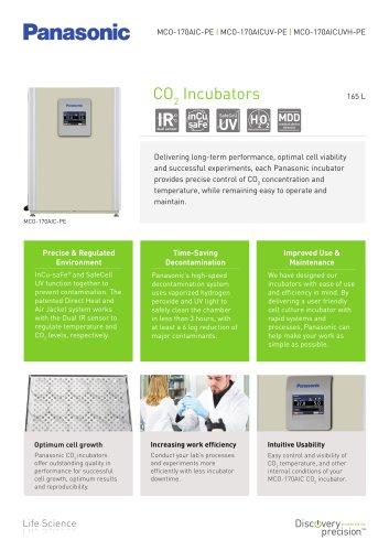 IncuSafe Incubateurs à CO2 MCO-170AIC/170AICUV/170AICUVH