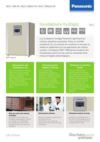 MCO-170M(UVH) IncuSafe Incubateurs multigaz