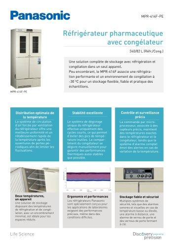 MPR-414F Réfrigérateur pharmaceutique avec congélateur