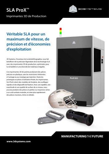 ProX SLA Series