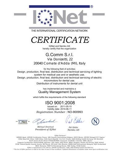G.Comm IQNet QMS