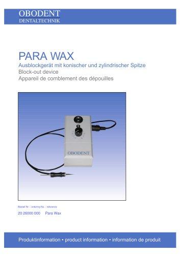 PARA WAX