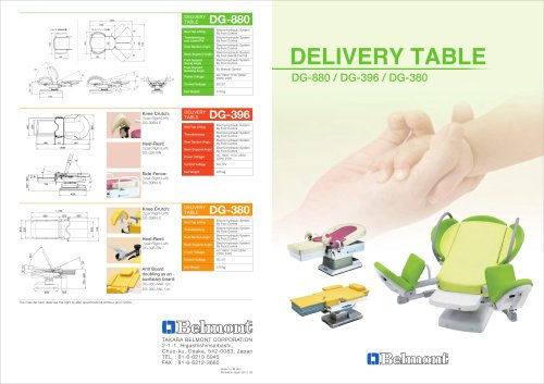 DELIVERY TABLE