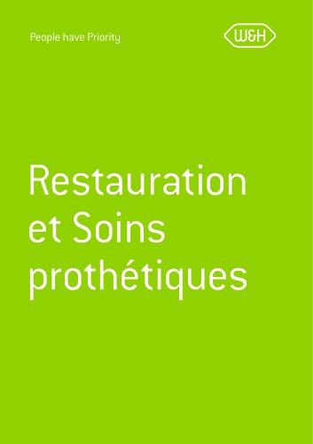 Catalogue restauration & soins prothétiques