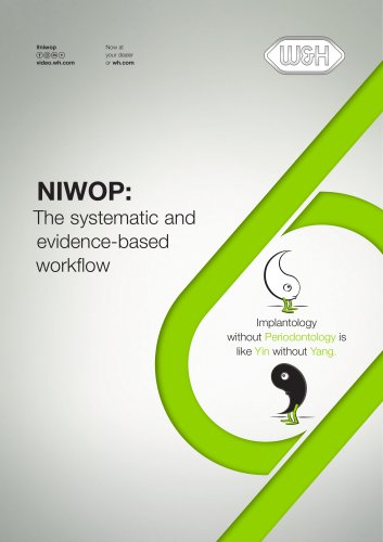 Workflow NIWOP NIWOP: The systematic and evidence-...
