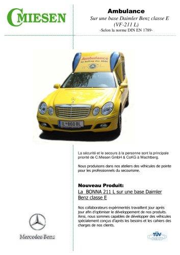 Ambulance BONNA 211 L