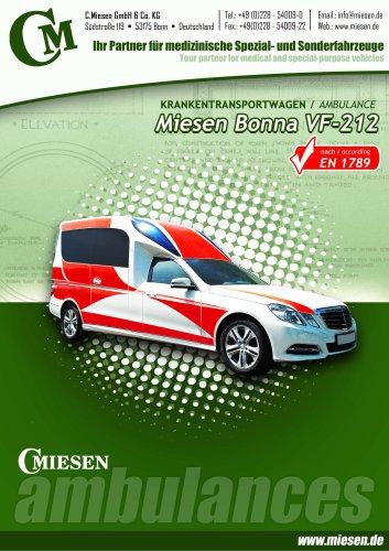 Bonna VF212 Ambulance