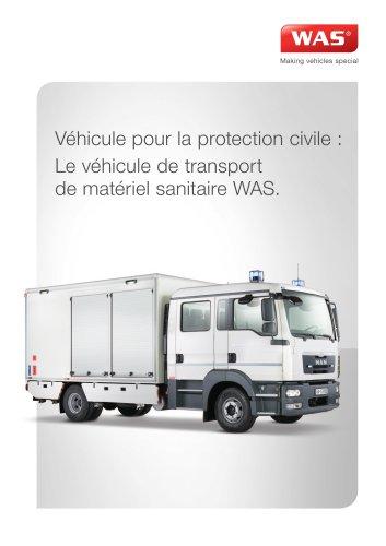 Véhicule de Transport de Matériel Sanitaire