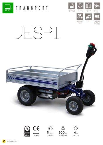 JESPI Chariot transporteur électrique