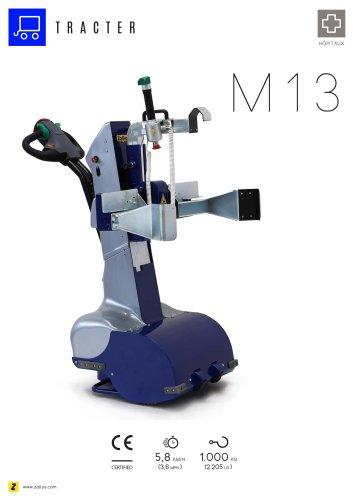 M13 tracteur pousseur électrique pour lits d'hôpitaux