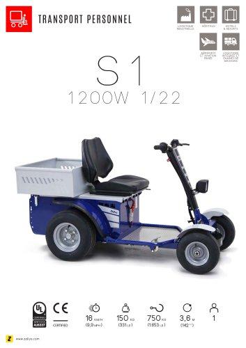 S1 véhicule électrique transport personnel